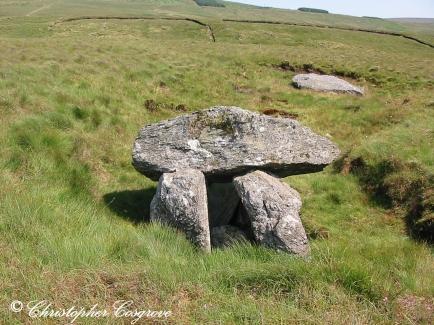 Dolmen at Ballypatrick near Ballycastle